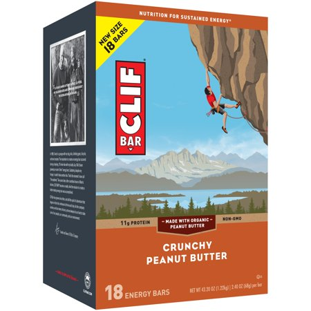 CLIF Bar® Crunchy Peanut Butter Energy Bars 18-2.4 oz.