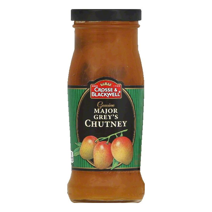 Crosse & Blackwell Chutney Major Greys, 9 OZ (Pack of 6) by