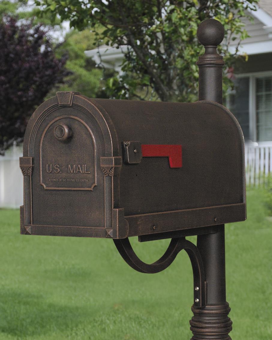 SCS-1014-CP Savannah Curbside Mailbox by Special Lite