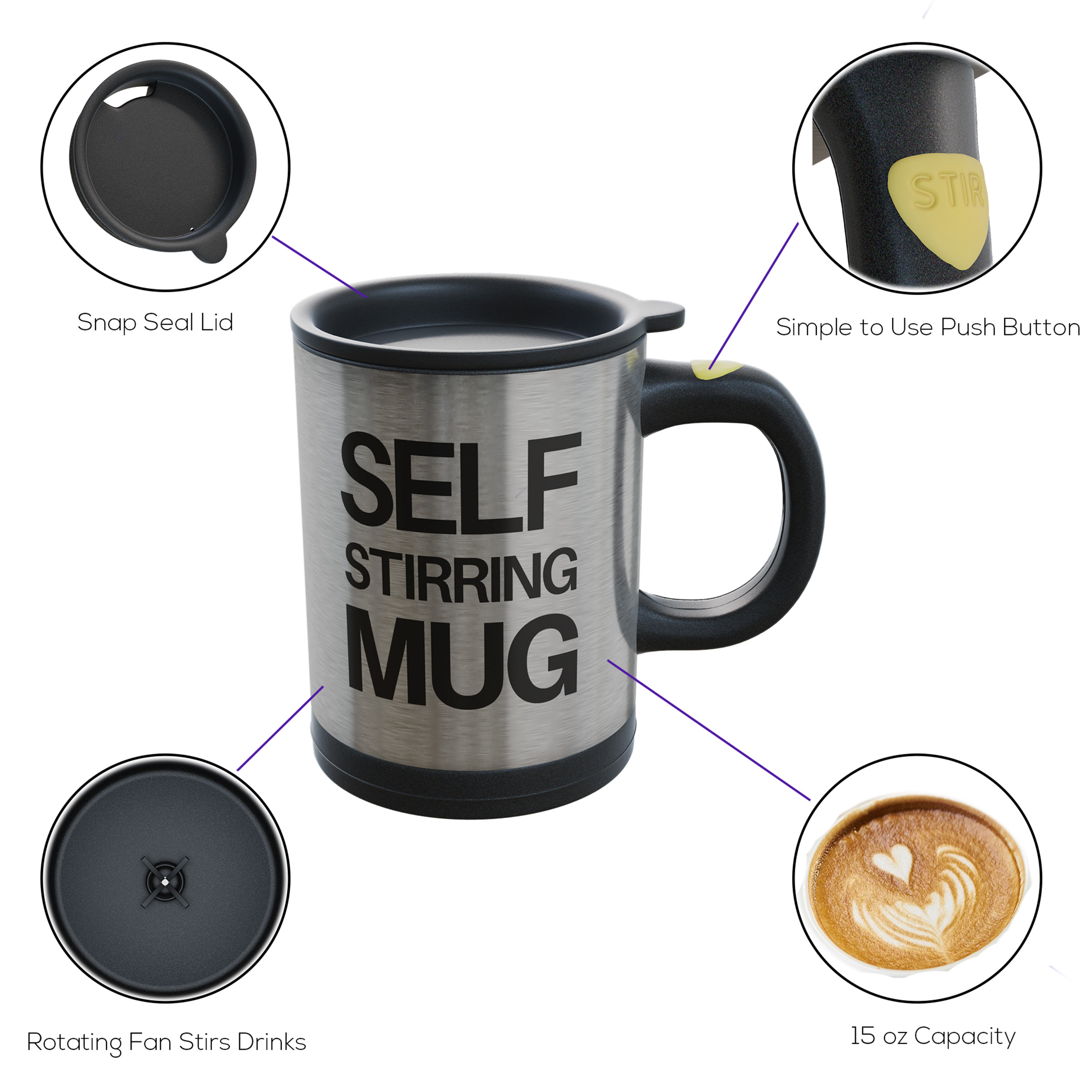 Image result for self stirring mug