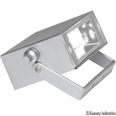 Celebrations Strobe Led Light Box Clear Light With Silver Casing By Gemmy  Industries