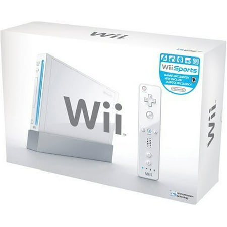 Refurbished Nintendo Wii Console White with Wii Sports (Best Wii Console Bundle)