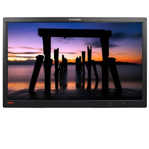 """Refurbished 23"""" Lenovo ThinkVision L2321xwD Widescreen LCD HD Monitor DisplayPort , No Stand"""