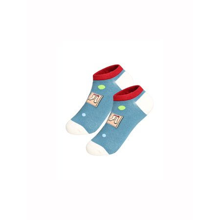 Low Rise Green (Women's 2 Pack Novelty Low Cut Stretchy Color Block No Show Boat Socks Teal (Size)