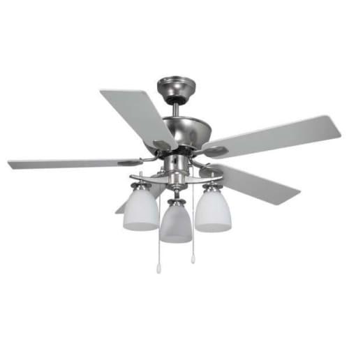 Canarm NEW YORKER New Yorker 3 Light 4 Blade Hugger Ceiling Fan