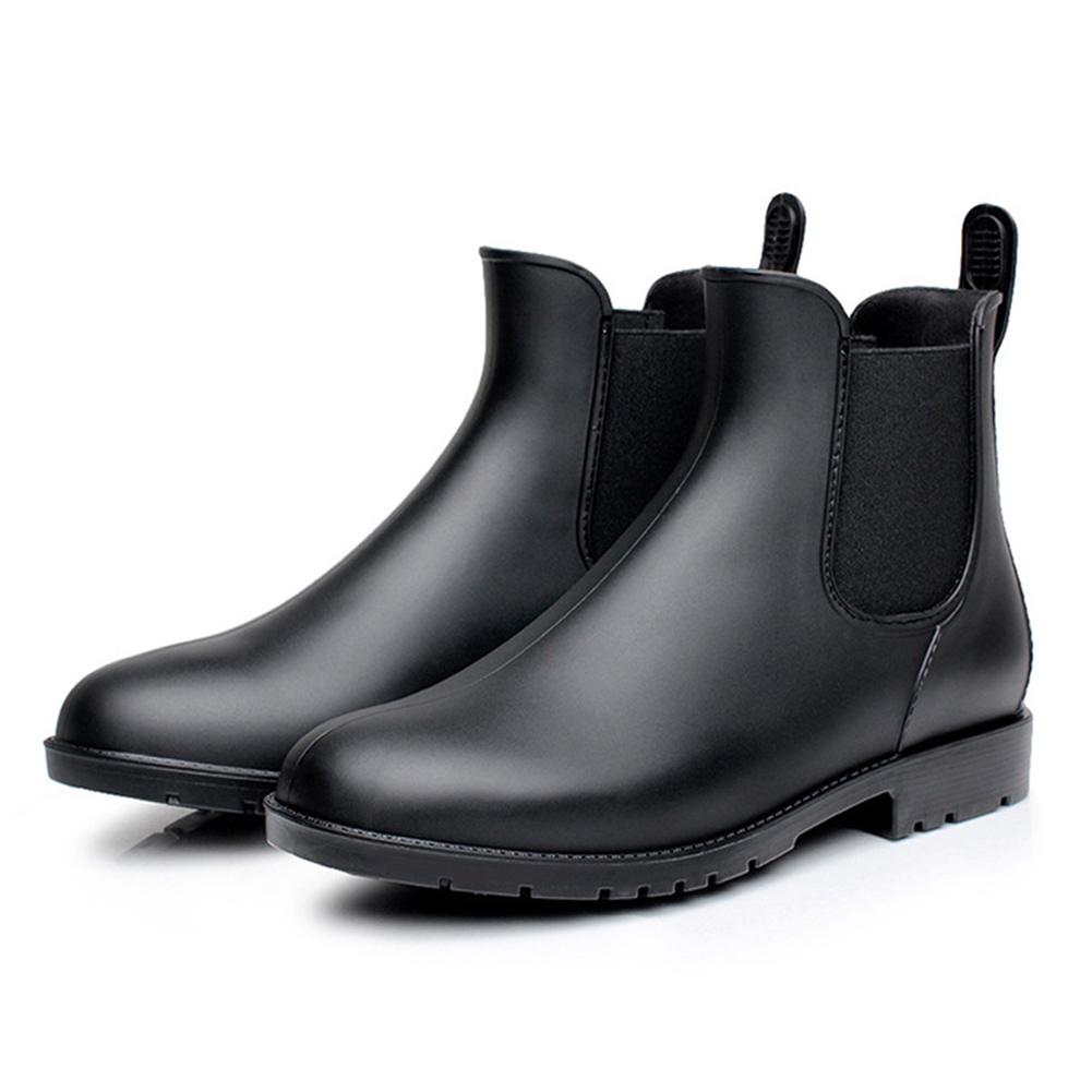 Akoyovwerve Women Short Rain Boots