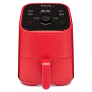 Instant Pot, 2-Quart Vortex Mini Air Fryer Oven, 4-in-1 Oil-Less Cooker, Roaster, Toaster, Crisper, Dehydrater, Warmer & More, Red