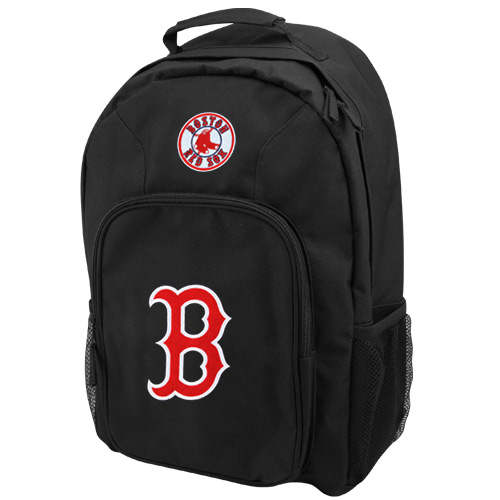 Boston Red Sox Southpaw Backpack - Black/Red - No Size