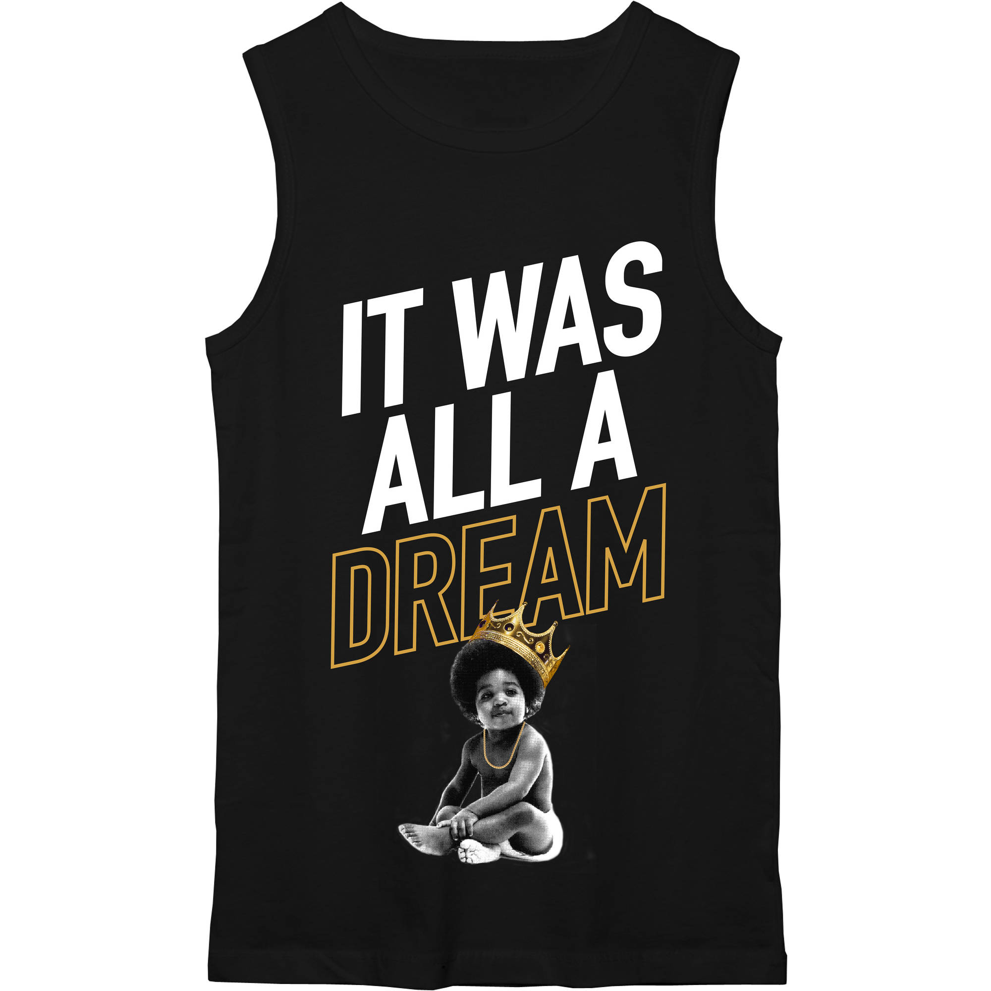 "Juniors' Notorious B.I.G ""It Was All A Dream"" Muscle Tank"