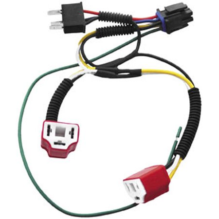 Signal Dynamics Dual H4 Wiring Harness Kit for Plug-and-Play Diamond on