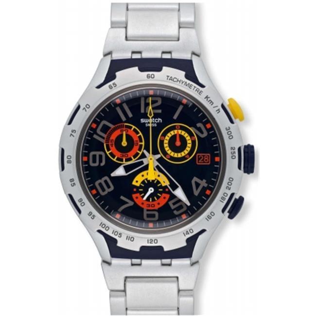 Swatch YYS4006AG Darkony Mens Watch by Swatch