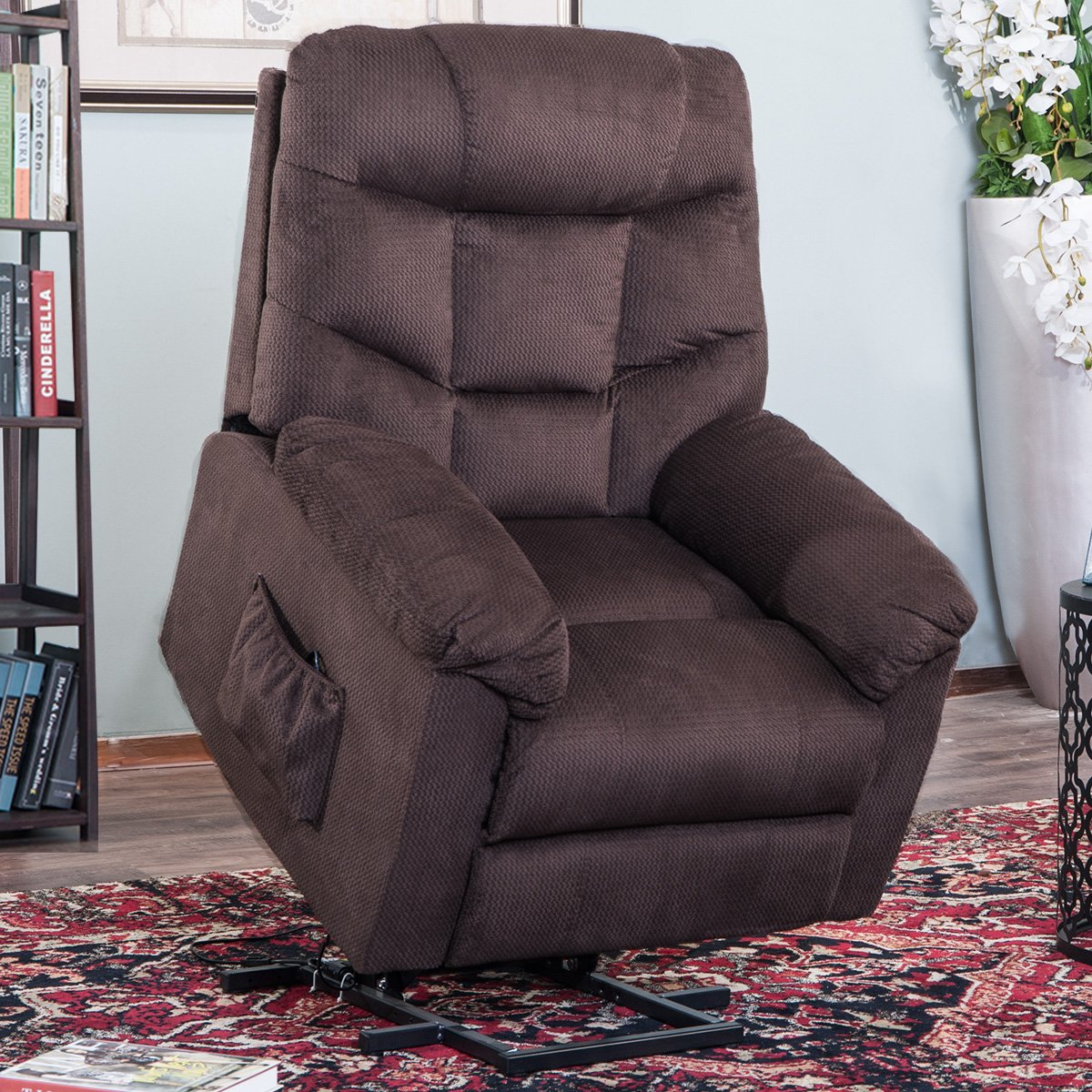 Harper & Bright Designs Electric Power Lift Recliner Lifting Chair for the Elderly, Multiple Colors