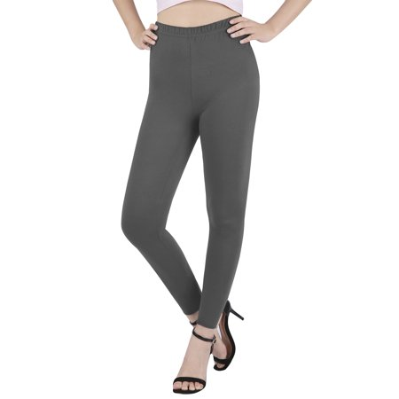 HDE Women's Plus Size Leggings Ultra Soft Fashion Design Stretch Pants (Light Gray, 3X)](Skeleton Leggings Plus Size)