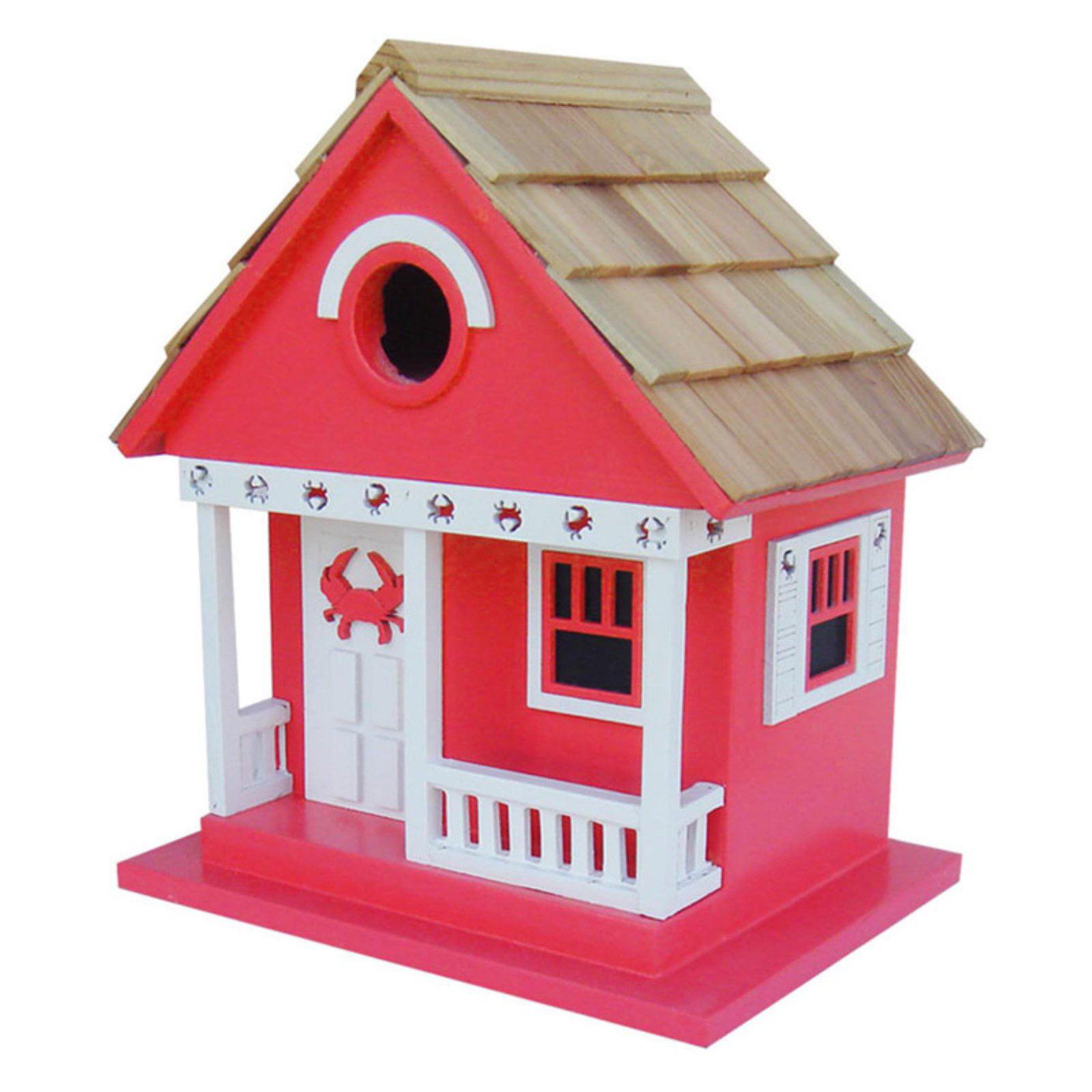 Home Bazaar Crab Cottage Bird House