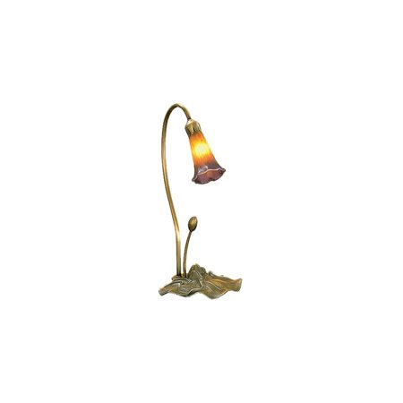 - Pond Lily Accent Lamp in Gold