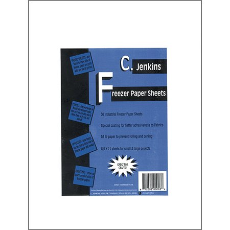 CJKFP3 C JENKINS FREEZER PAPER SHEETS 54LB 8 5X11 50PC