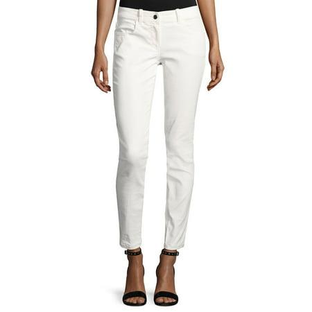ac2aca05a5 MAXSTUDIO Max Studio Women's Coated Matte Skinny Jeans, Cream, 10 ...