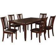 Furniture of America Descer Transitional 9-Piece Dining Set, Espresso