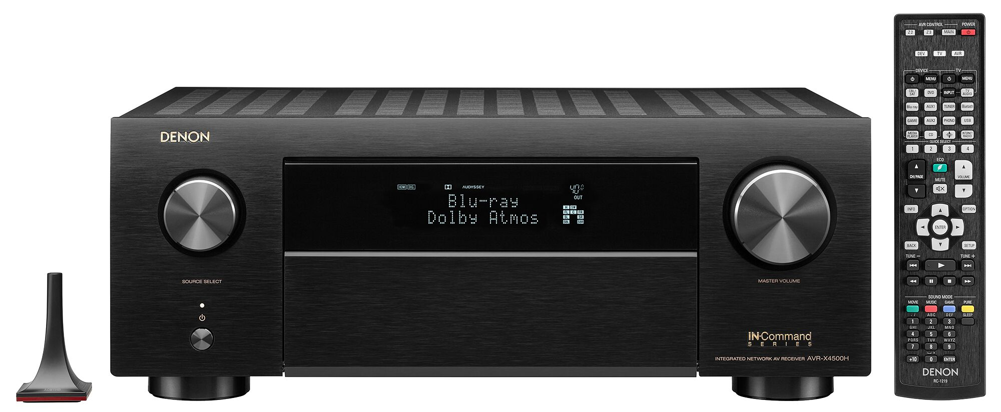 Denon AVR-X4500H 9.2 Ch High Power 4k AV Receiver with Amazon Alexa Voice Control by Denon