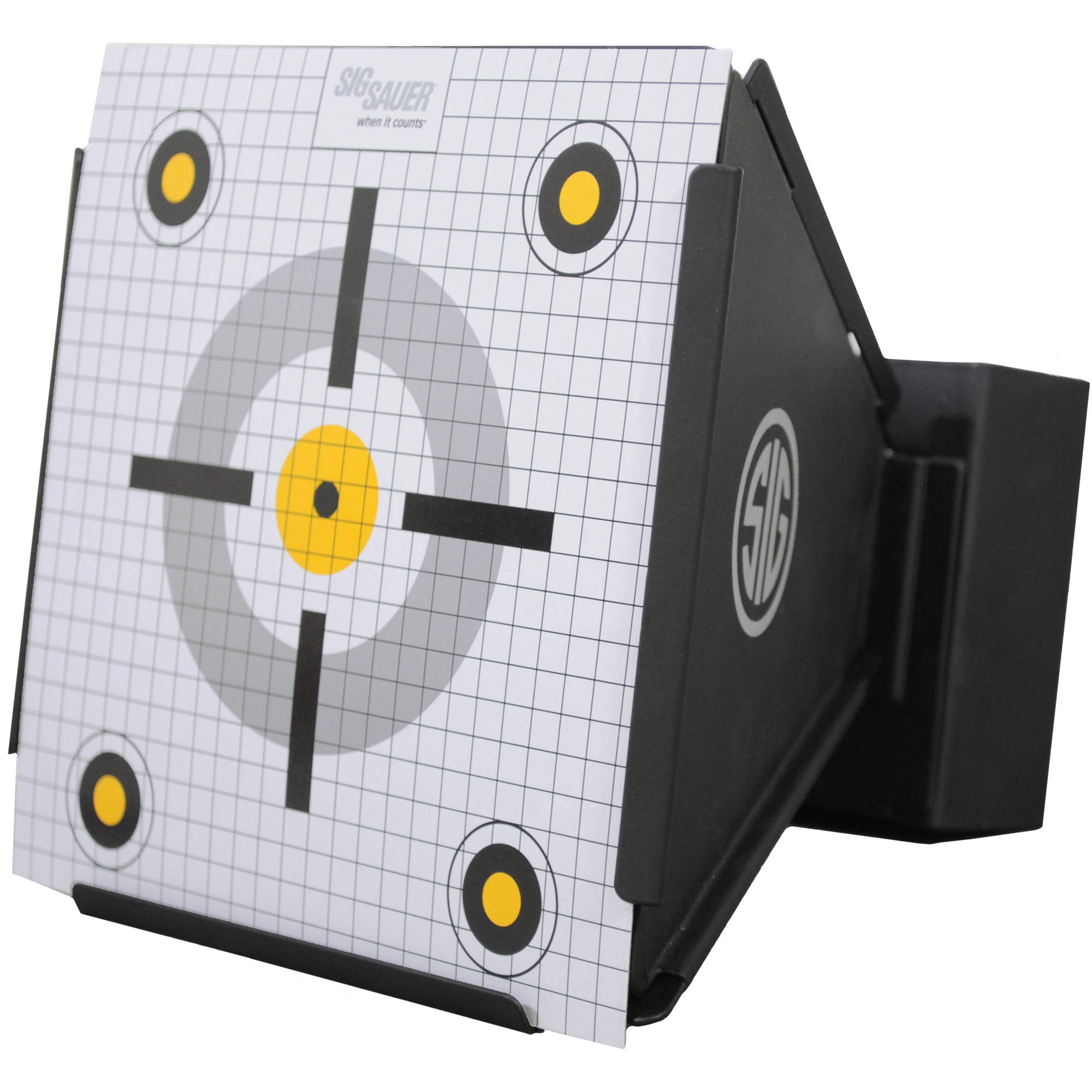 how to make a pellet gun target