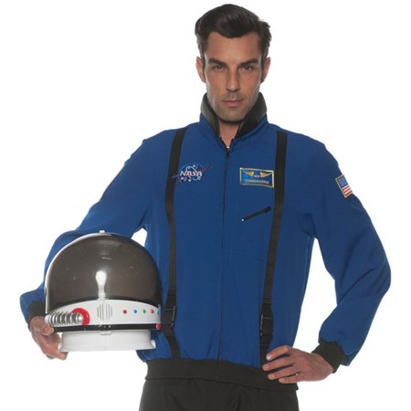 Blue Space Teen/Adult Costume Jacket, One Size (Space Costume Ideas)