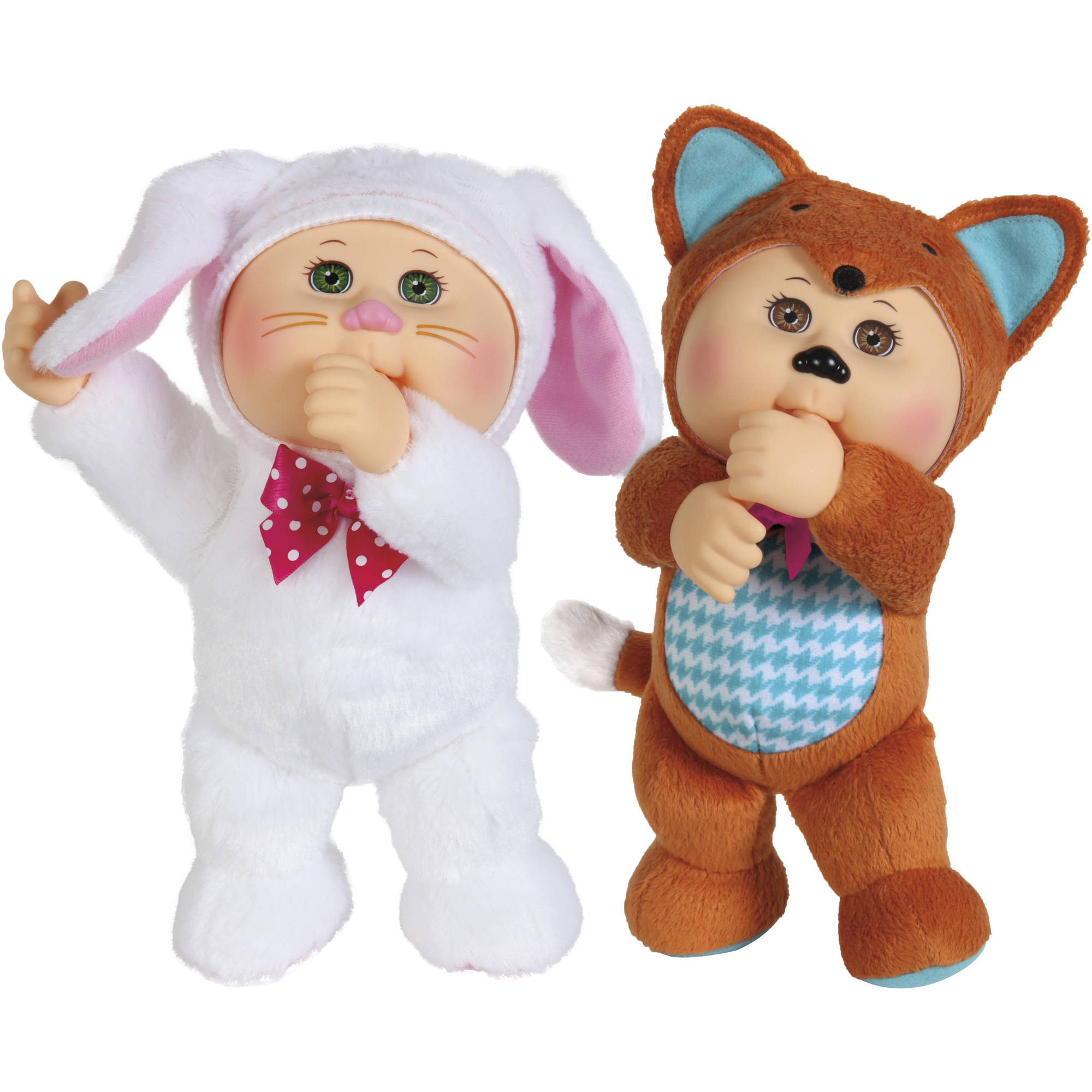 "Cabbage Patch Kids 9"" Forest Friend Cuties, 2pk"