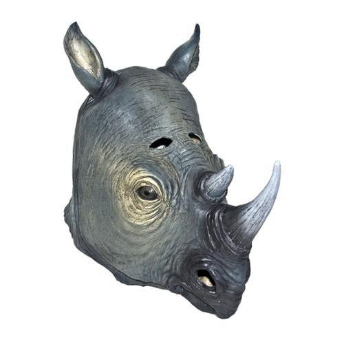 Rhino Halloween Mask Animal Adult Costumes