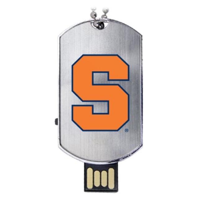 Syracuse Orange Flash Tag USB Drive 8GB