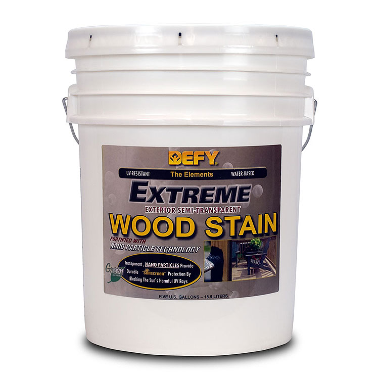 DEFY Extreme Wood Stain Natural Pine 5gal