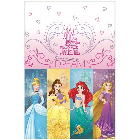 Disney Princess Table Cover (Each) - Party Supplies (Disney Princess Table Cover)