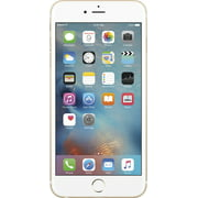 Used (Good Condition) Apple iPhone 6S Plus 128GB Unlocked GSM iOS Smartphone Multi Colors (Gold/White)
