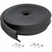 M-D Products 03749 16' Rubber Garage Door Bottom Seal