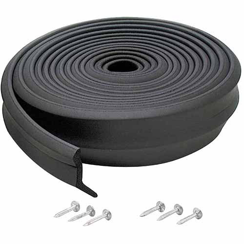 M-D Products 03749 16' Rubber Garage Door Bottom Seal