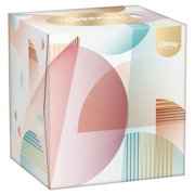 Kleenex Collection Cube Tissues 56 per pack - European Version - Imported from United Kingdom by BOTIGA - SOLD AS A 2 PACK - SHIPPED DIRECTLY FROM THE UNITED KINGDOM
