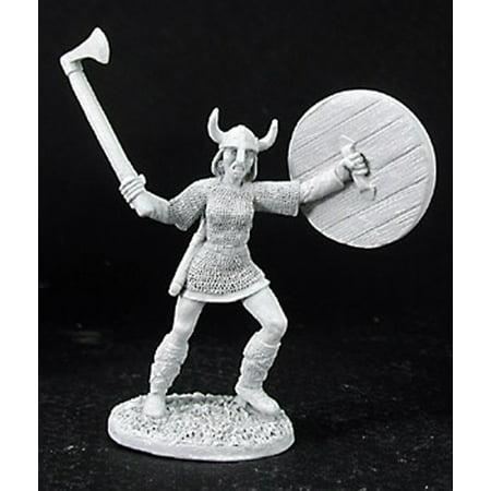 - Reaper Miniatures Oksana, Viking Maiden #03038 Dark Heaven Unpainted Metal