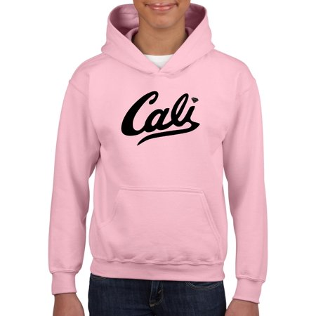 Cali California Unisex Hoodie For Girls and Boys Youth Sweatshirt