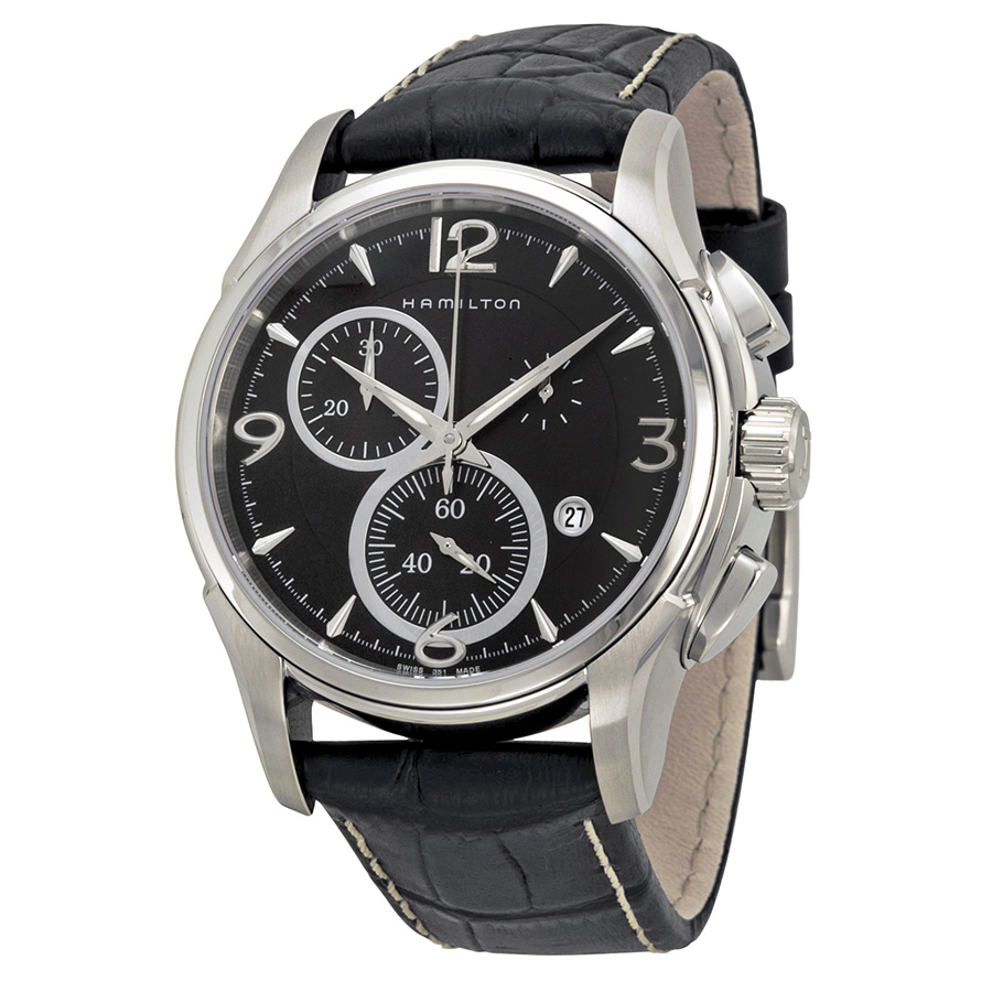 Hamilton Jazzmaster Quartz Chrono Mens Watch H32612735 by Hamilton