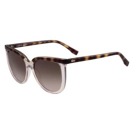 8545015841 Lacoste - Lacoste Women s L825S L 825 S 662 Rose Havana Fashion Square  Sunglasses 55mm - Walmart.com