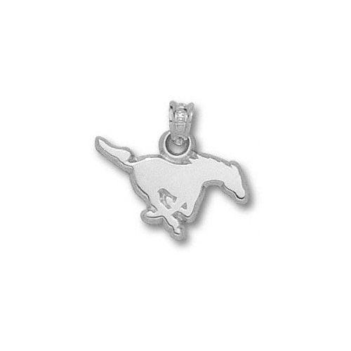 "NCAA - SMU Mustangs Sterling Silver Mustang 3/8"" Pendant"