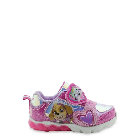 Nickelodeon Paw Patrol Lighted Athletic Sneaker (Toddler Girls)