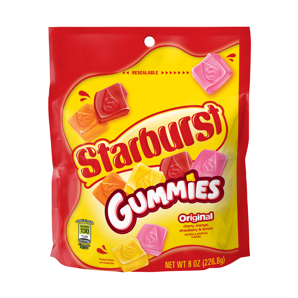 Starburst Original Gummies Candy, 8 oz