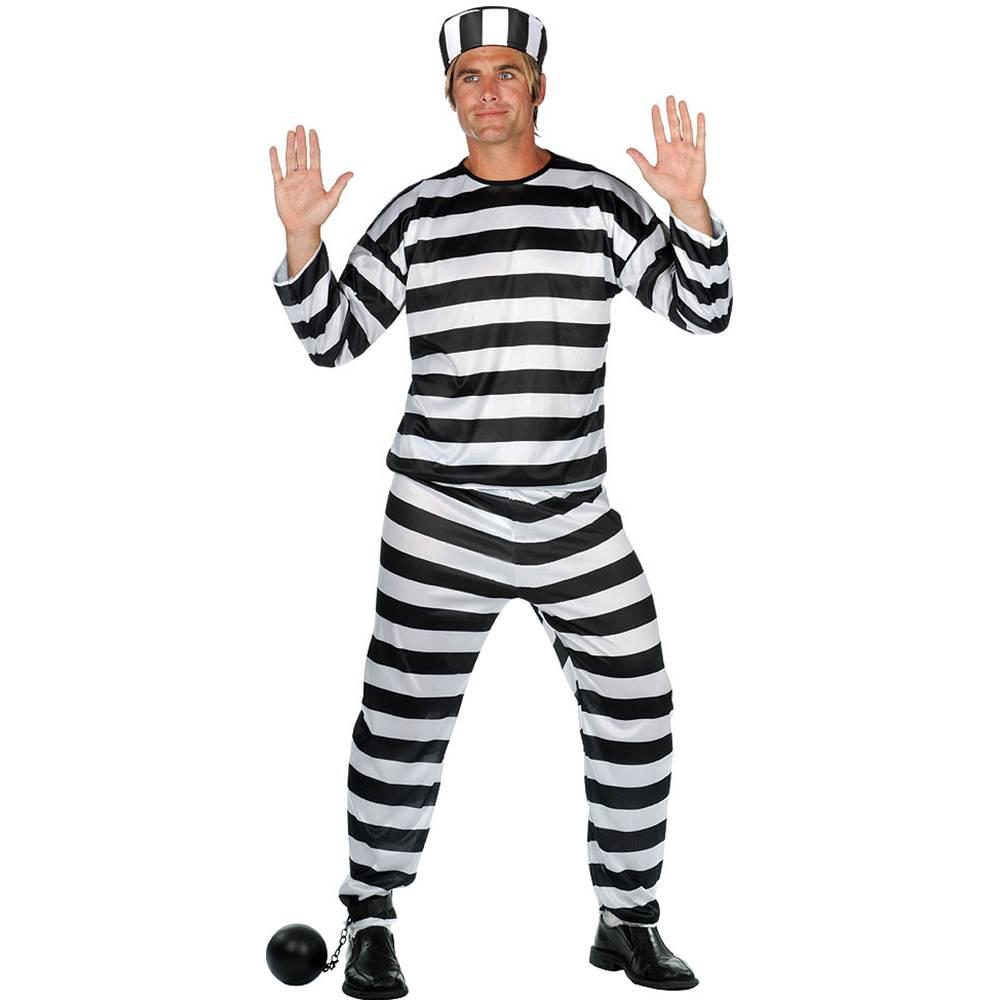 Classic Convict Adult Costume