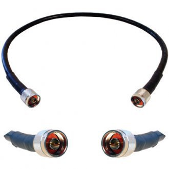 50 Ohm Coax Cable (weBoost 952302 WILSON 400 ULTRA LOW-LOSS BLACK COAX CABLE, 50)