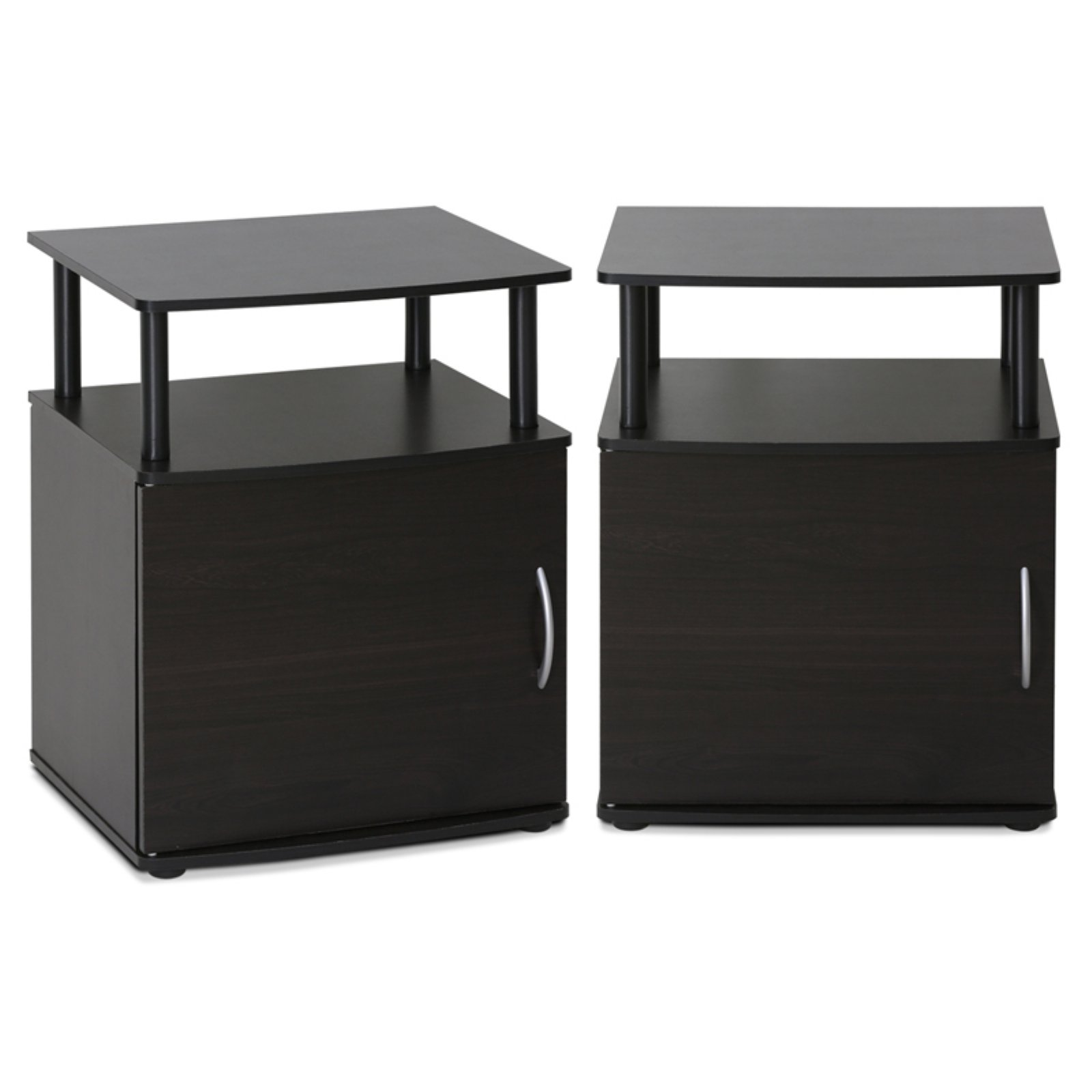 Furinno JAYA Utility Design End Table, Set of 2