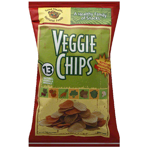 Good Health Natural Foods Veggie Chips, 6.75 oz, (Pack of 10) by
