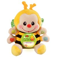 VTech Touch and Learn Musical Bee, Crib Baby Toy, Yellow Plush