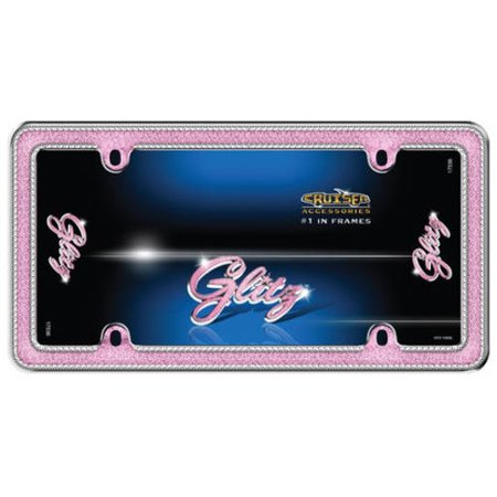 Cruiser Accessories Glitz, Chrome/Pink/Clear