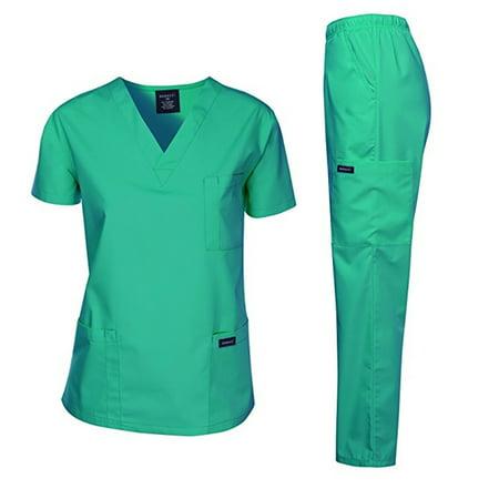 89259a00234 DAGACCI - Dagacci Unisex Medical Uniform Scrub Set - Walmart.com
