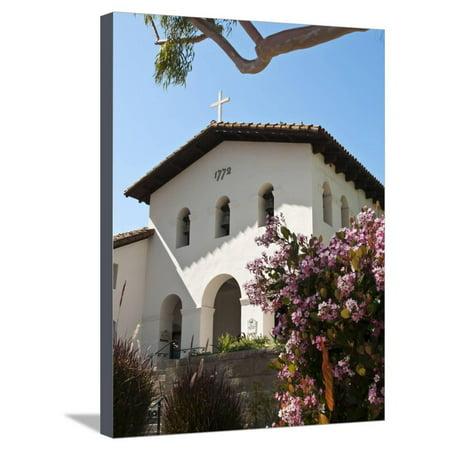 Old Mission San Luis Obispo De Tolosa, San Luis Obispo, California, USA Stretched Canvas Print Wall Art By Michael