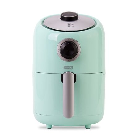 Dash 900W 2qt Single Basket Compact Air Fryer Aqua